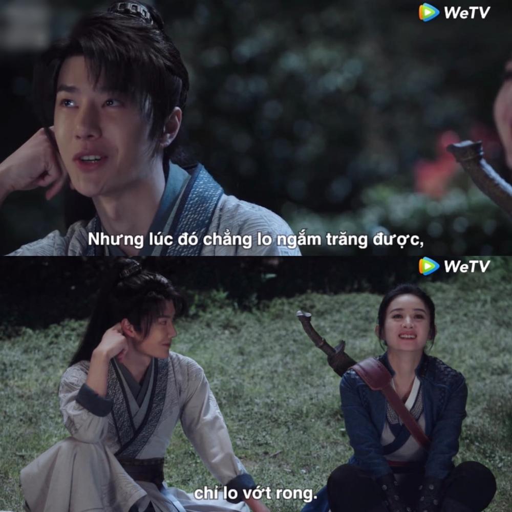 Lụi tim với loạt khoảnh khắc 'tung cẩu lương' của Triệu Lệ Dĩnh - Vương Nhất Bác trong 'Hữu Phỉ' Ảnh 7