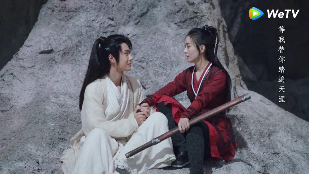 Lụi tim với loạt khoảnh khắc 'tung cẩu lương' của Triệu Lệ Dĩnh - Vương Nhất Bác trong 'Hữu Phỉ' Ảnh 2
