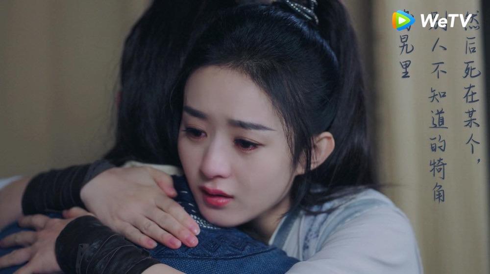 Lụi tim với loạt khoảnh khắc 'tung cẩu lương' của Triệu Lệ Dĩnh - Vương Nhất Bác trong 'Hữu Phỉ' Ảnh 21