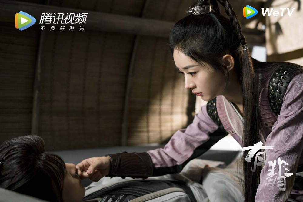 Lụi tim với loạt khoảnh khắc 'tung cẩu lương' của Triệu Lệ Dĩnh - Vương Nhất Bác trong 'Hữu Phỉ' Ảnh 23
