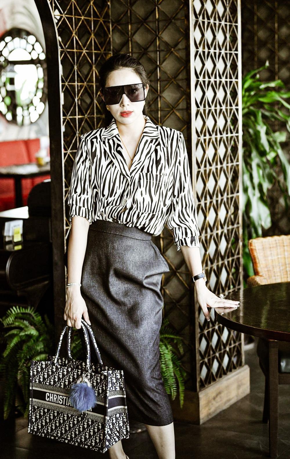 Phạm Quỳnh - Nữ doanh nhân sở hữu gout thời trang ấn tượng không kém fashionista Ảnh 5