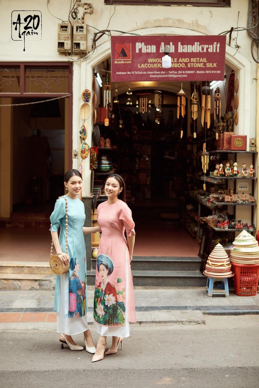 Thời trang 20AGAIN ấn tượng với BST áo dài 'Tân Thời Kẻ Chợ' Ảnh 1