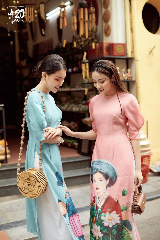 Thời trang 20AGAIN ấn tượng với BST áo dài 'Tân Thời Kẻ Chợ' Ảnh 2