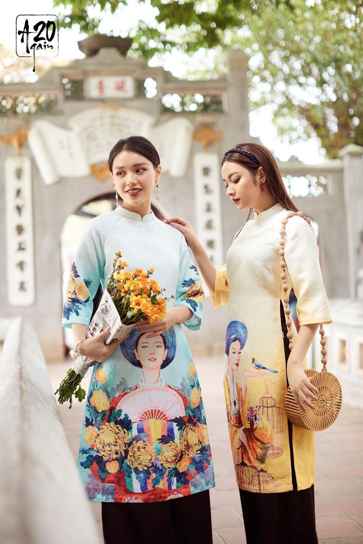 Thời trang 20AGAIN ấn tượng với BST áo dài 'Tân Thời Kẻ Chợ' Ảnh 3