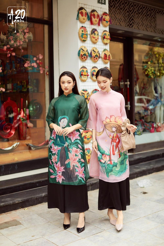 Thời trang 20AGAIN ấn tượng với BST áo dài 'Tân Thời Kẻ Chợ' Ảnh 4
