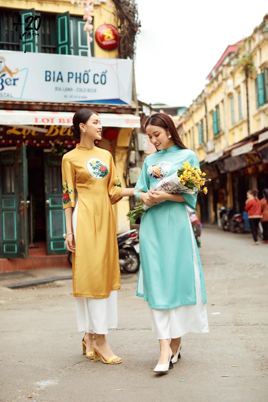 Thời trang 20AGAIN ấn tượng với BST áo dài 'Tân Thời Kẻ Chợ' Ảnh 5