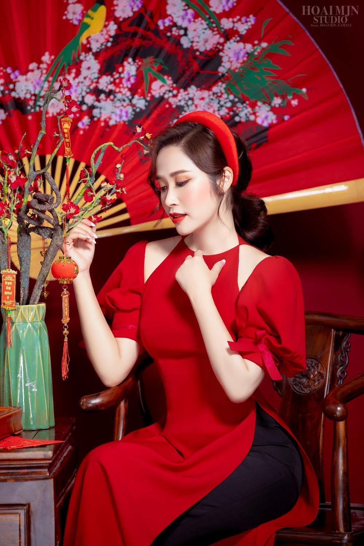 CEO Thảo Nguyên cho biết: Ngày Tết, mặc lên mình chiếc áo dài Việt Nam Ảnh 3