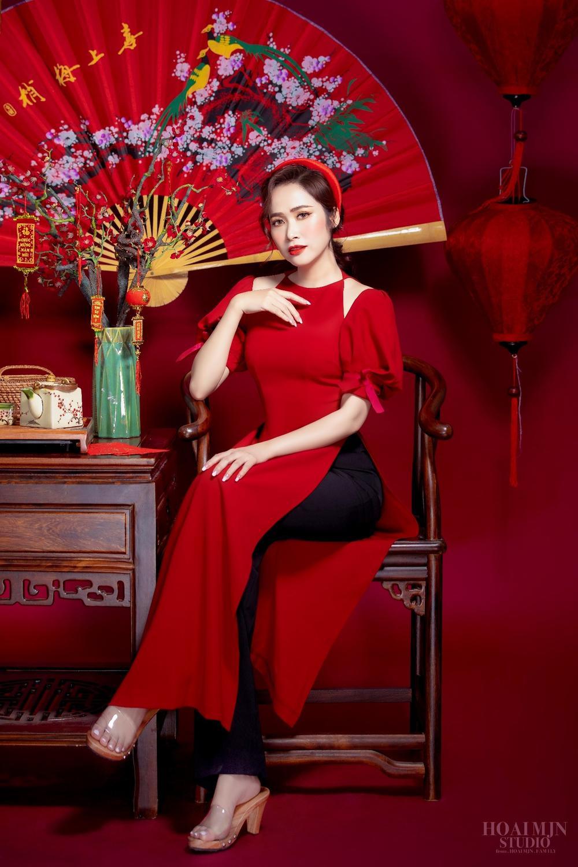 CEO Thảo Nguyên cho biết: Ngày Tết, mặc lên mình chiếc áo dài Việt Nam Ảnh 4