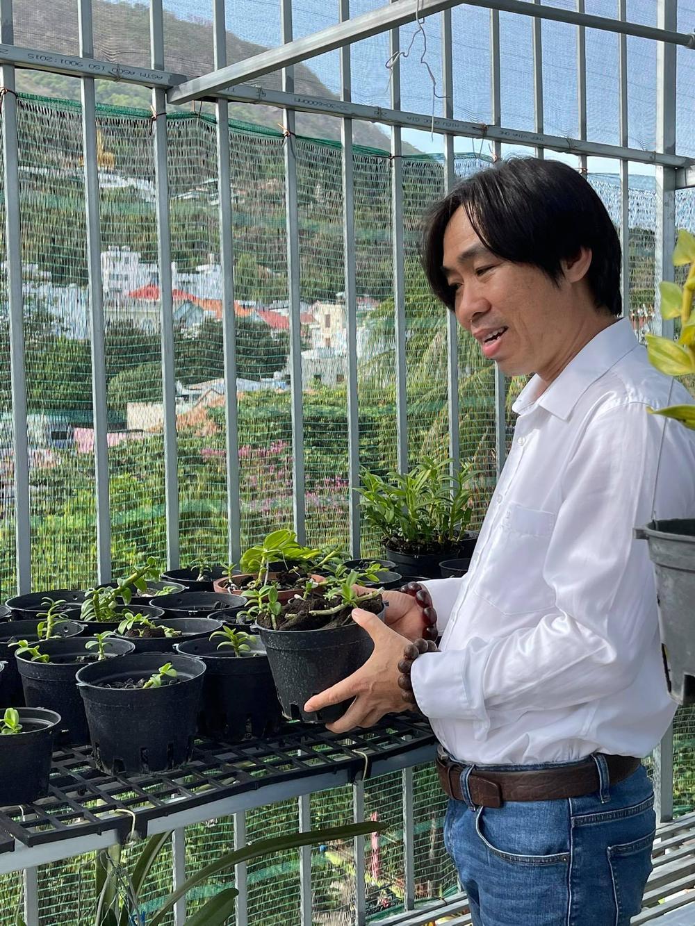 Ông chủ Nguyễn Huy Bình và vườn lan 'khủng' nhiều người ngưỡng mộ Ảnh 6