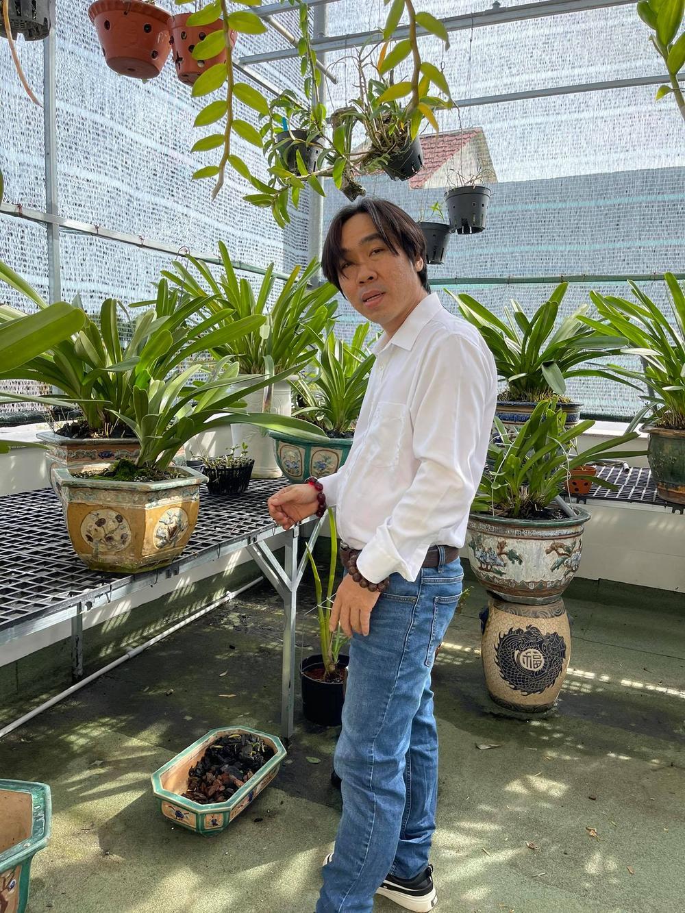 Ông chủ Nguyễn Huy Bình và vườn lan 'khủng' nhiều người ngưỡng mộ Ảnh 1