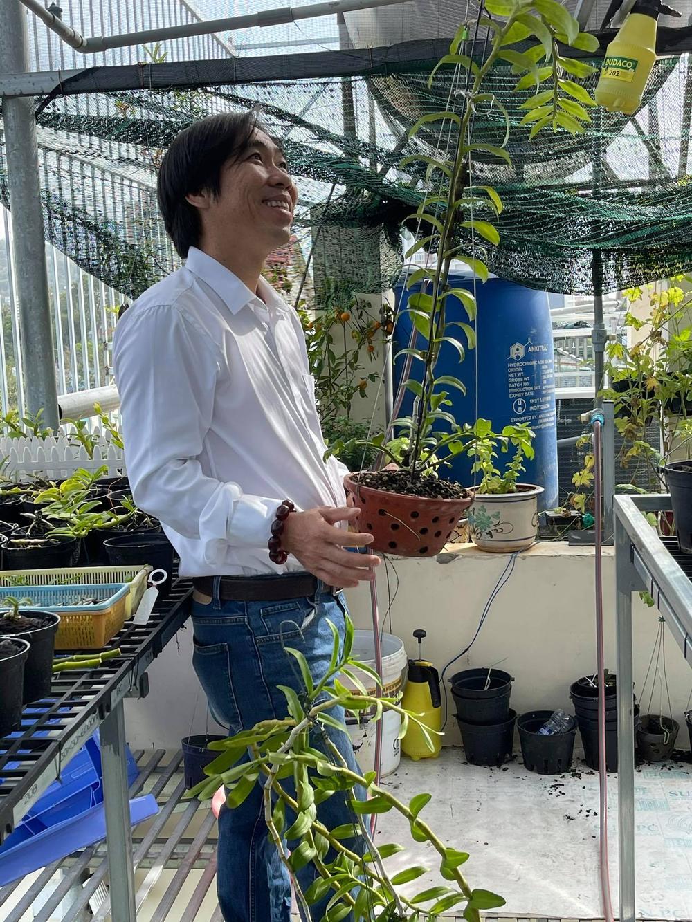 Ông chủ Nguyễn Huy Bình và vườn lan 'khủng' nhiều người ngưỡng mộ Ảnh 4