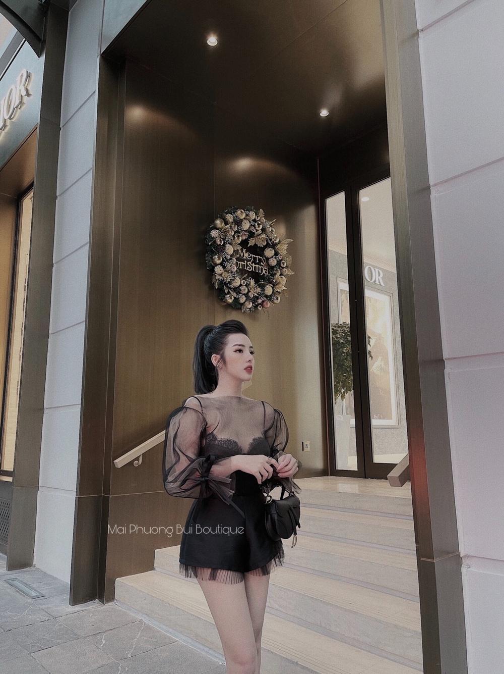 Những mẫu thiết kế mang phong cách sang chảnh, quý phái tại Mai Phương Bùi Boutique Ảnh 5