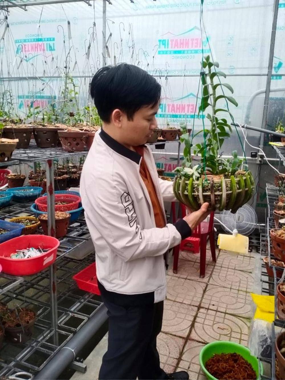 Ông chủ 7X Mạnh Hùng và bí quyết thành công khi trồng lan Ảnh 8