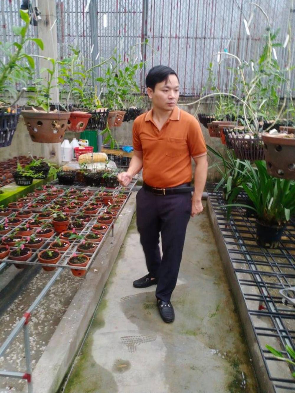 Ông chủ 7X Mạnh Hùng và bí quyết thành công khi trồng lan Ảnh 2