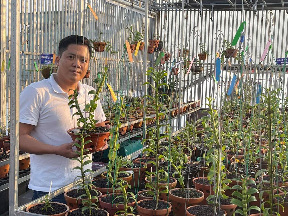 Ông chủ vườn lan Diệp Minh Tuyền: 'Tay ngang' lại thành công sớm Ảnh 1