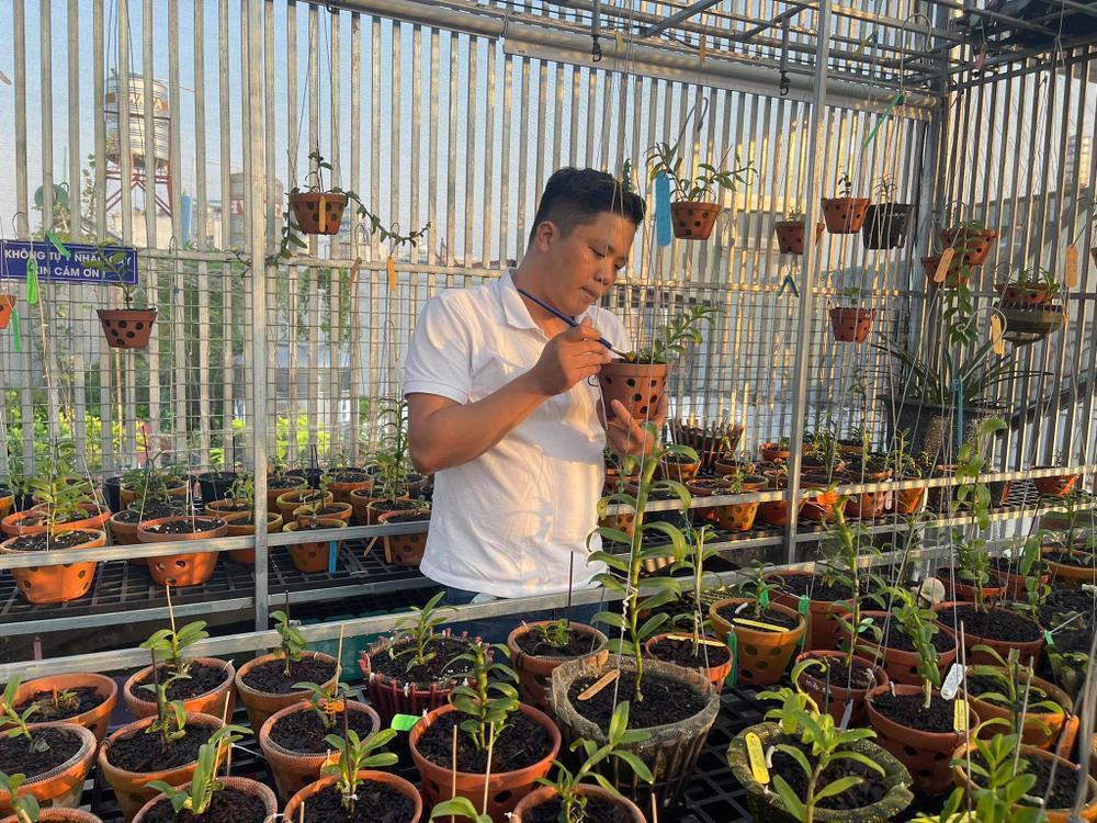 Ông chủ vườn lan Diệp Minh Tuyền: 'Tay ngang' lại thành công sớm Ảnh 3