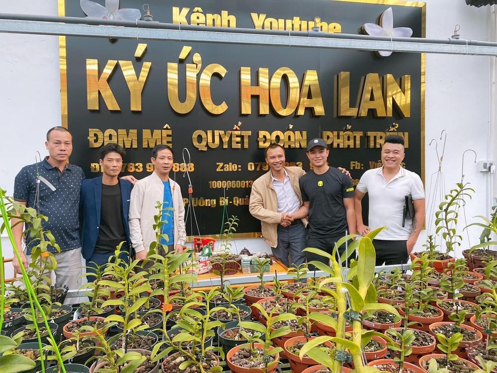 Đỗ Việt Đức - Từ chàng công nhân đến doanh nhân trồng lan thu nhập hàng tỉ đồng Ảnh 2