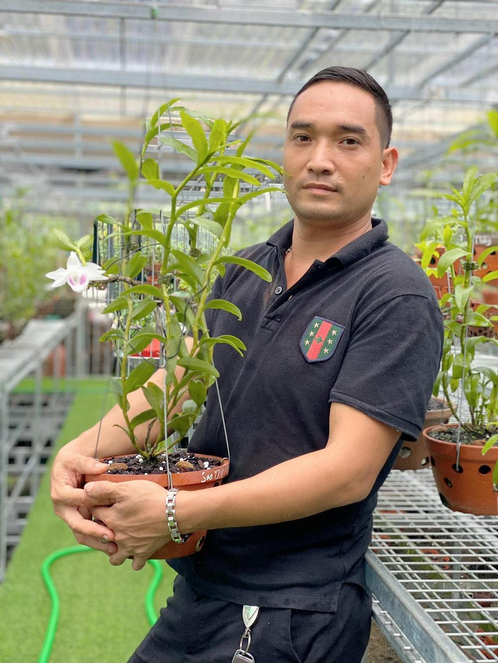 Chặng đường trở thành ông chủ vườn lan nổi tiếng của chàng trai 8X Nguyễn Tiến Huy Ảnh 1