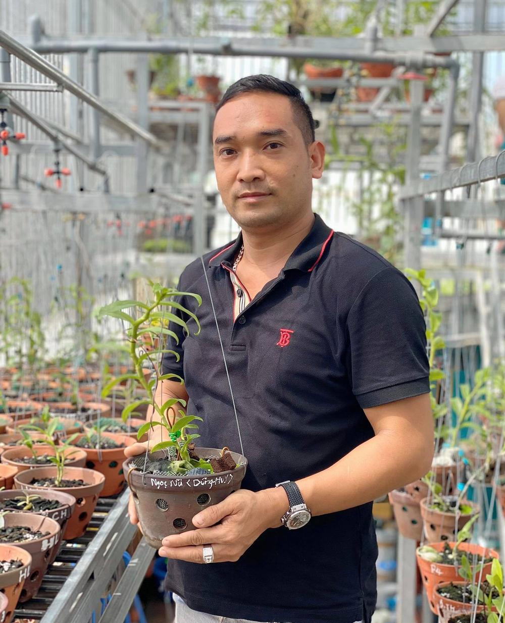 Chặng đường trở thành ông chủ vườn lan nổi tiếng của chàng trai 8X Nguyễn Tiến Huy Ảnh 3