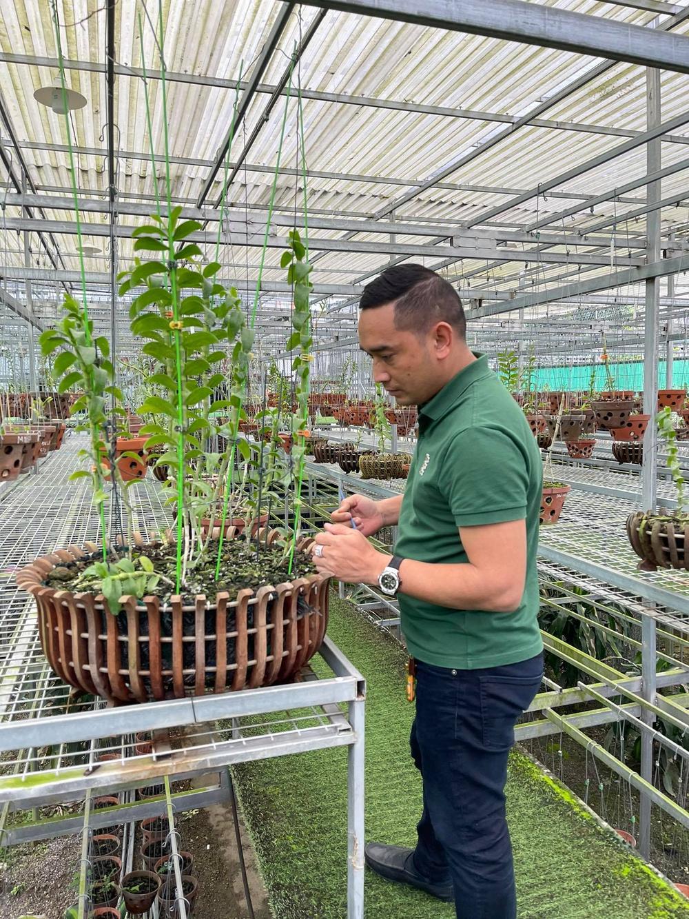 Chặng đường trở thành ông chủ vườn lan nổi tiếng của chàng trai 8X Nguyễn Tiến Huy Ảnh 4