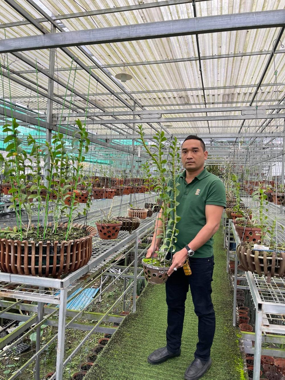 Chặng đường trở thành ông chủ vườn lan nổi tiếng của chàng trai 8X Nguyễn Tiến Huy Ảnh 6