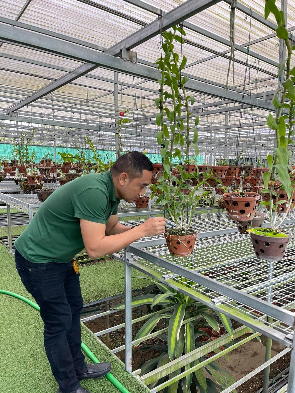 Chặng đường trở thành ông chủ vườn lan nổi tiếng của chàng trai 8X Nguyễn Tiến Huy Ảnh 7