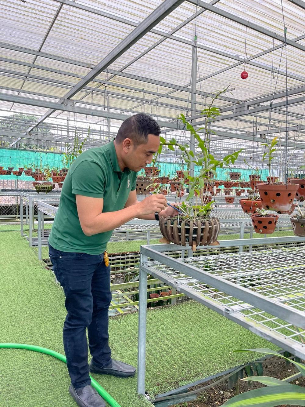 Chặng đường trở thành ông chủ vườn lan nổi tiếng của chàng trai 8X Nguyễn Tiến Huy Ảnh 8