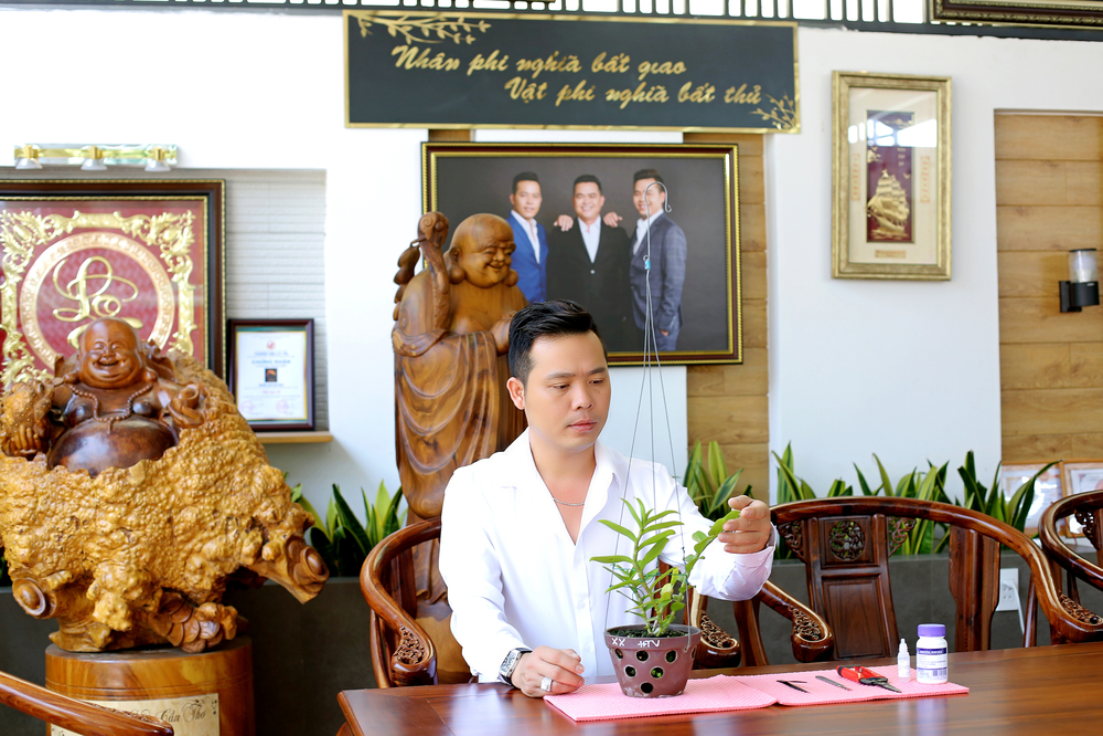 Nghệ nhân hoa lan Trương Tấn Lợi kể về quá trình lập nghiệp khó khăn Ảnh 1