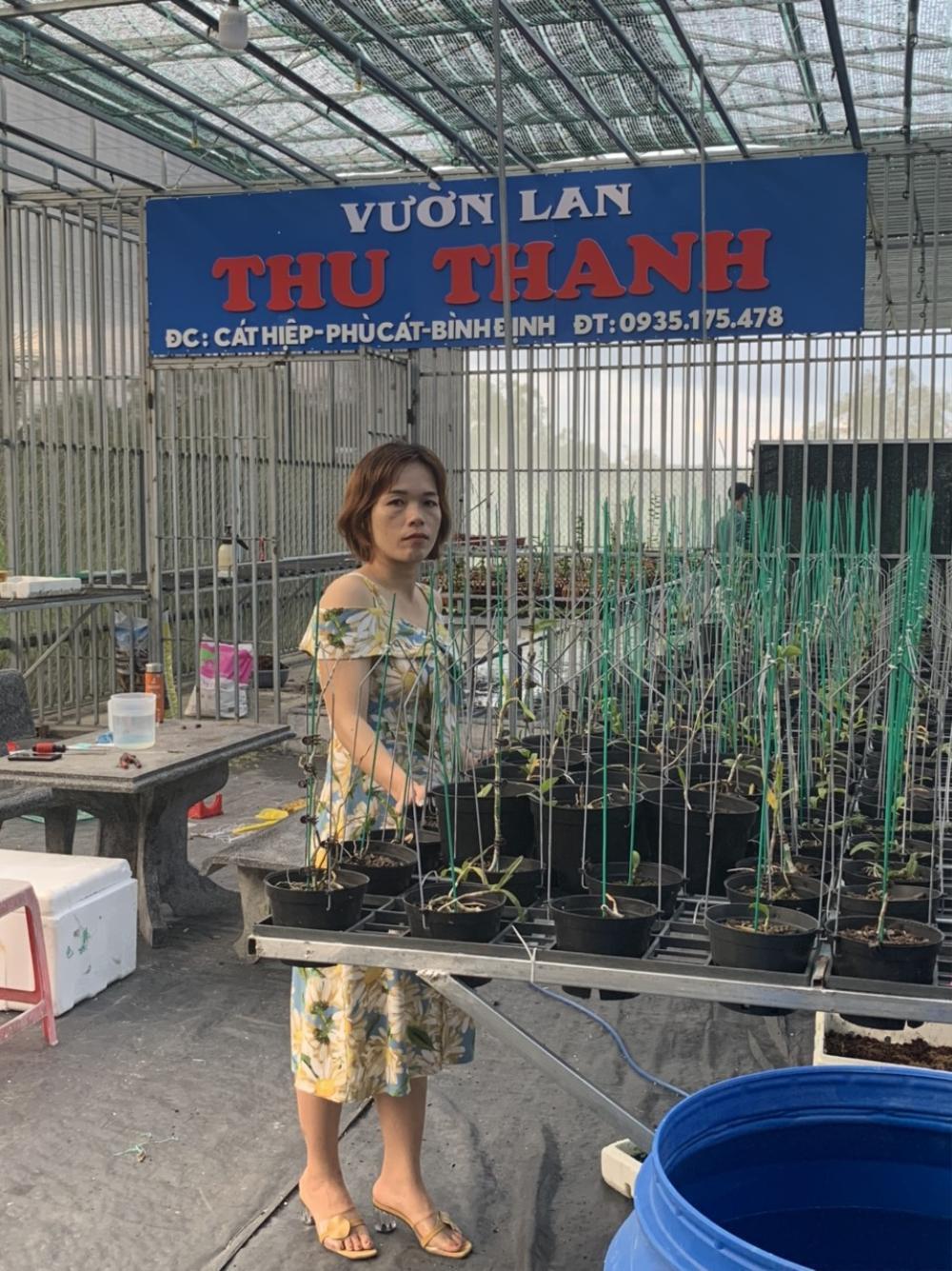 Bà chủ Vườn lan Thu Thanh: Cô gái đặc biệt trong giới chơi lan Ảnh 2