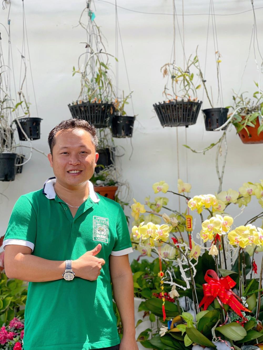 Những 'bí kíp' của nghệ nhân hoa lan Trần Tấn Hiền về xử lý cây lan và giá thể trước khi ghép Ảnh 1