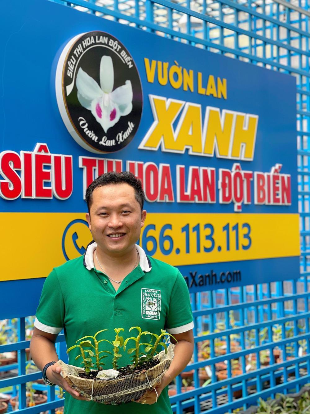 Những 'bí kíp' của nghệ nhân hoa lan Trần Tấn Hiền về xử lý cây lan và giá thể trước khi ghép Ảnh 5
