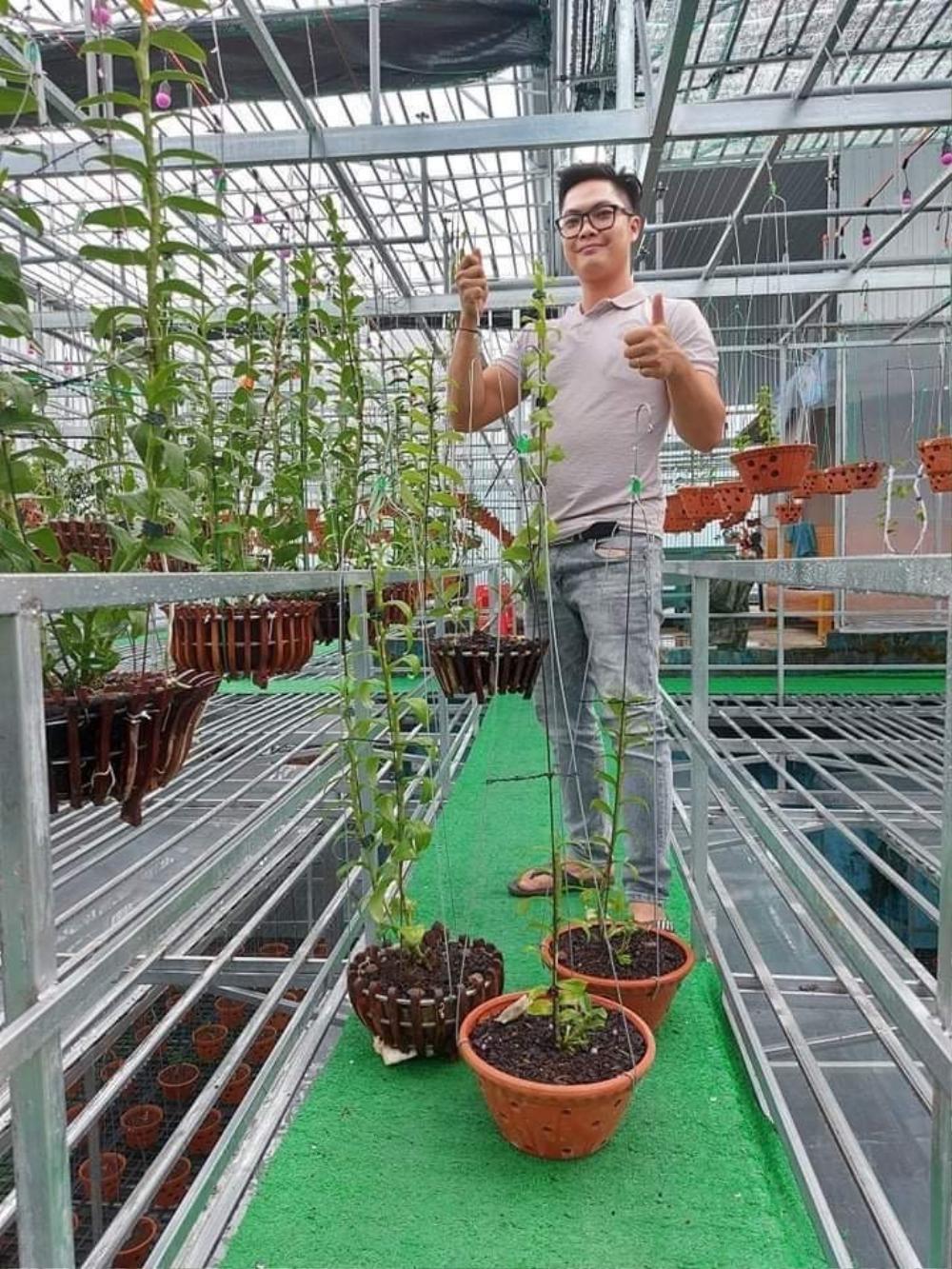 Nguyễn Duy Tân chia sẻ cách làm giàu từ cây hoa lan đột biến Ảnh 3