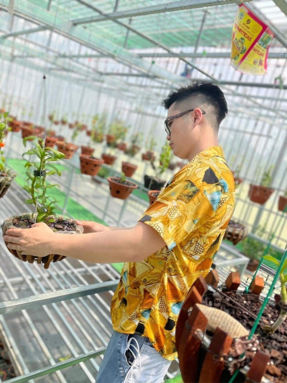 Nguyễn Duy Tân chia sẻ cách làm giàu từ cây hoa lan đột biến Ảnh 6