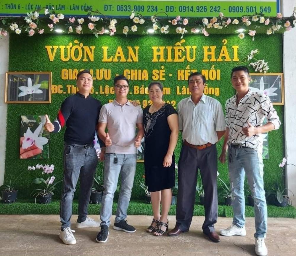 Nguyễn Duy Tân chia sẻ cách làm giàu từ cây hoa lan đột biến Ảnh 8