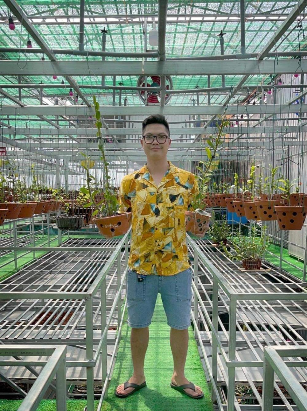 Nguyễn Duy Tân chia sẻ cách làm giàu từ cây hoa lan đột biến Ảnh 4