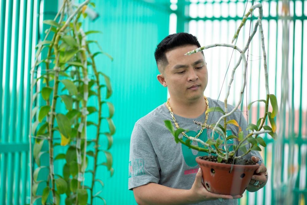 Lê Đăng Khoa: 'Trồng hoa lan đột biến đã giúp tôi trở nên hoàn thiện hơn' Ảnh 1