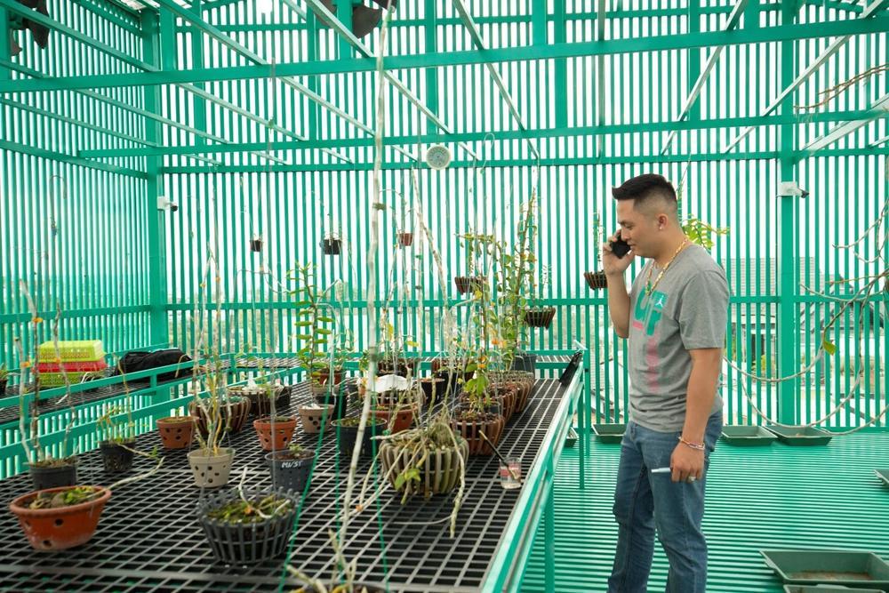 Lê Đăng Khoa: 'Trồng hoa lan đột biến đã giúp tôi trở nên hoàn thiện hơn' Ảnh 5
