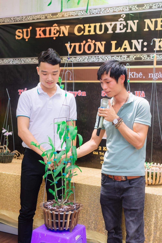 Đi từ nghèo khó, 9X Hạc Hoàng Huy thành công từ trồng hoa lan Ảnh 2