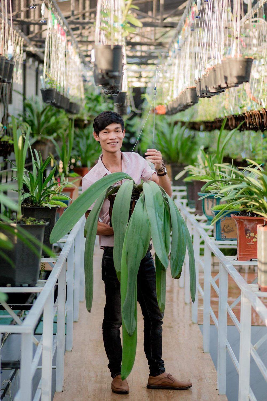 Đi từ nghèo khó, 9X Hạc Hoàng Huy thành công từ trồng hoa lan Ảnh 5