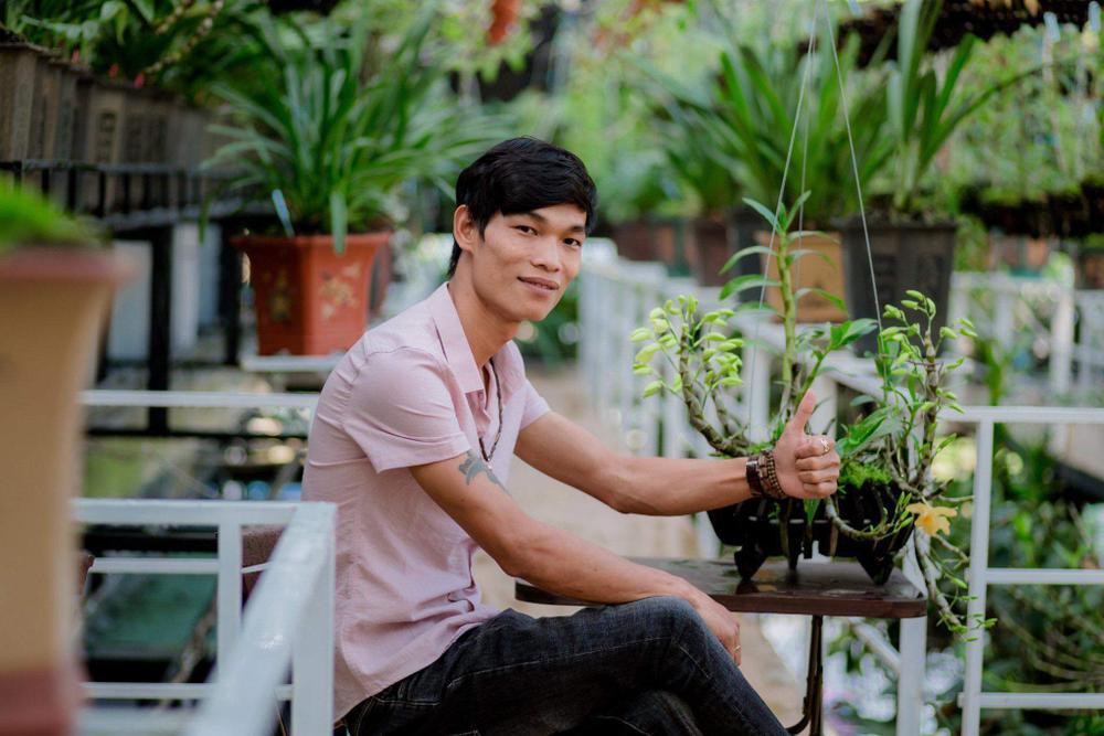 Đi từ nghèo khó, 9X Hạc Hoàng Huy thành công từ trồng hoa lan Ảnh 6