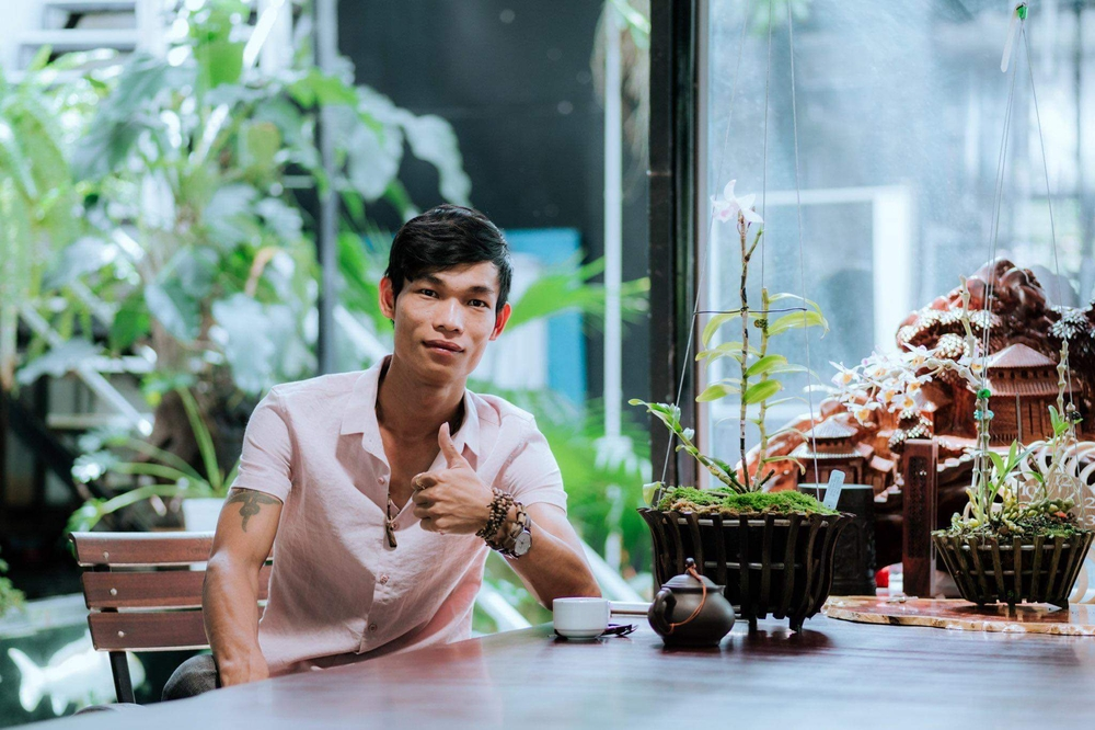 Đi từ nghèo khó, 9X Hạc Hoàng Huy thành công từ trồng hoa lan Ảnh 7