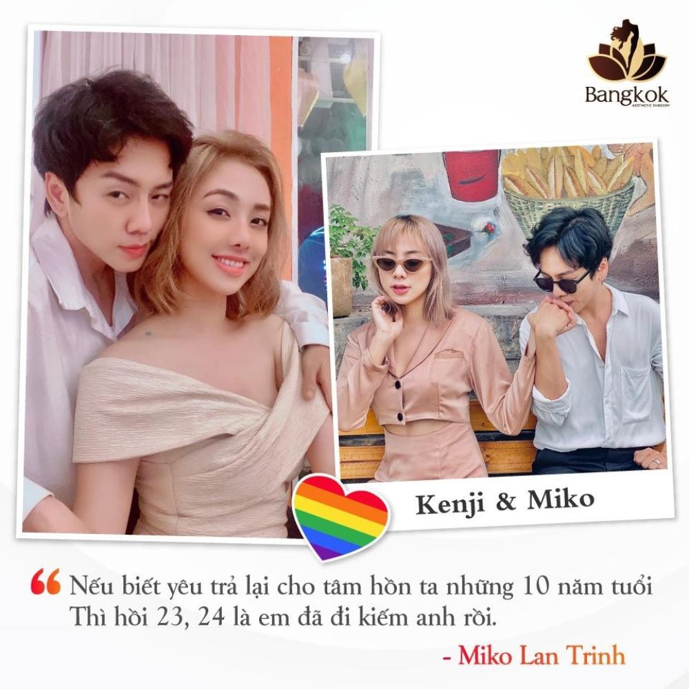 """Kenji - Người yêu đồng giới của Miko Lan Trinh và hành trình """"hóa thân"""" cùng Thẩm mỹ viện Bangkok Ảnh 1"""