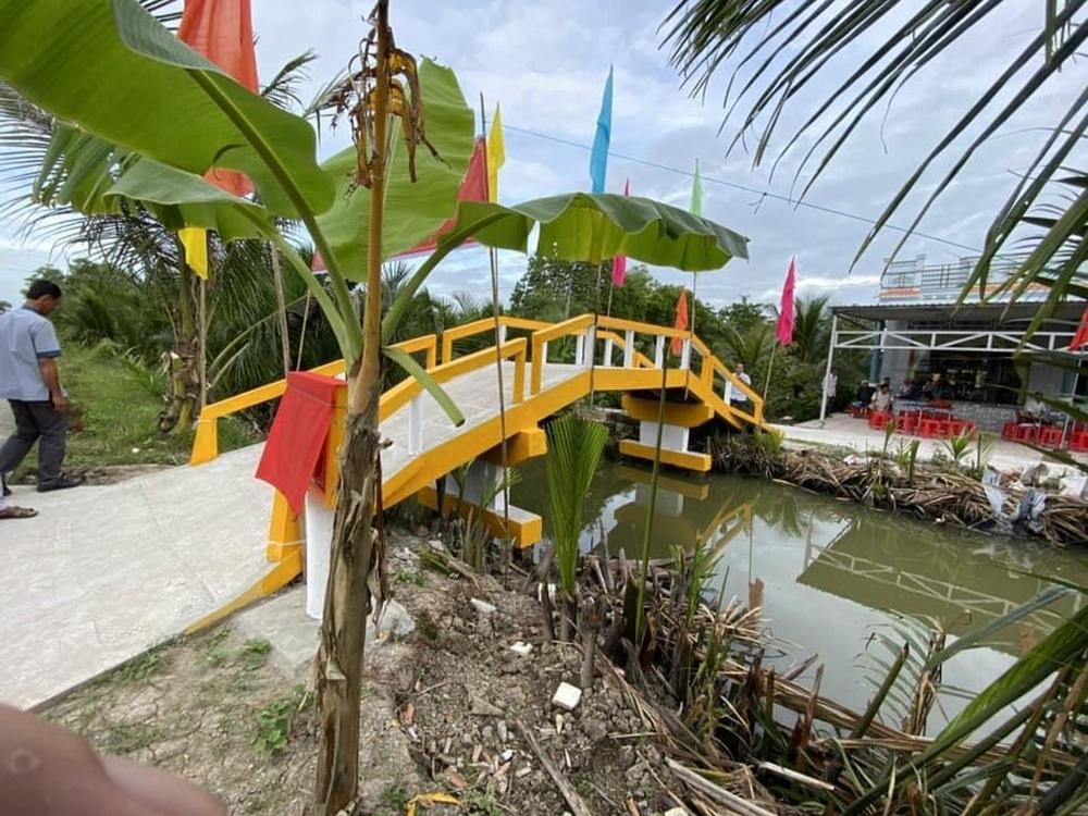 Đại đức Thích Trí Huệ xây dựng cầu đường cho nông dân nghèo Ảnh 3
