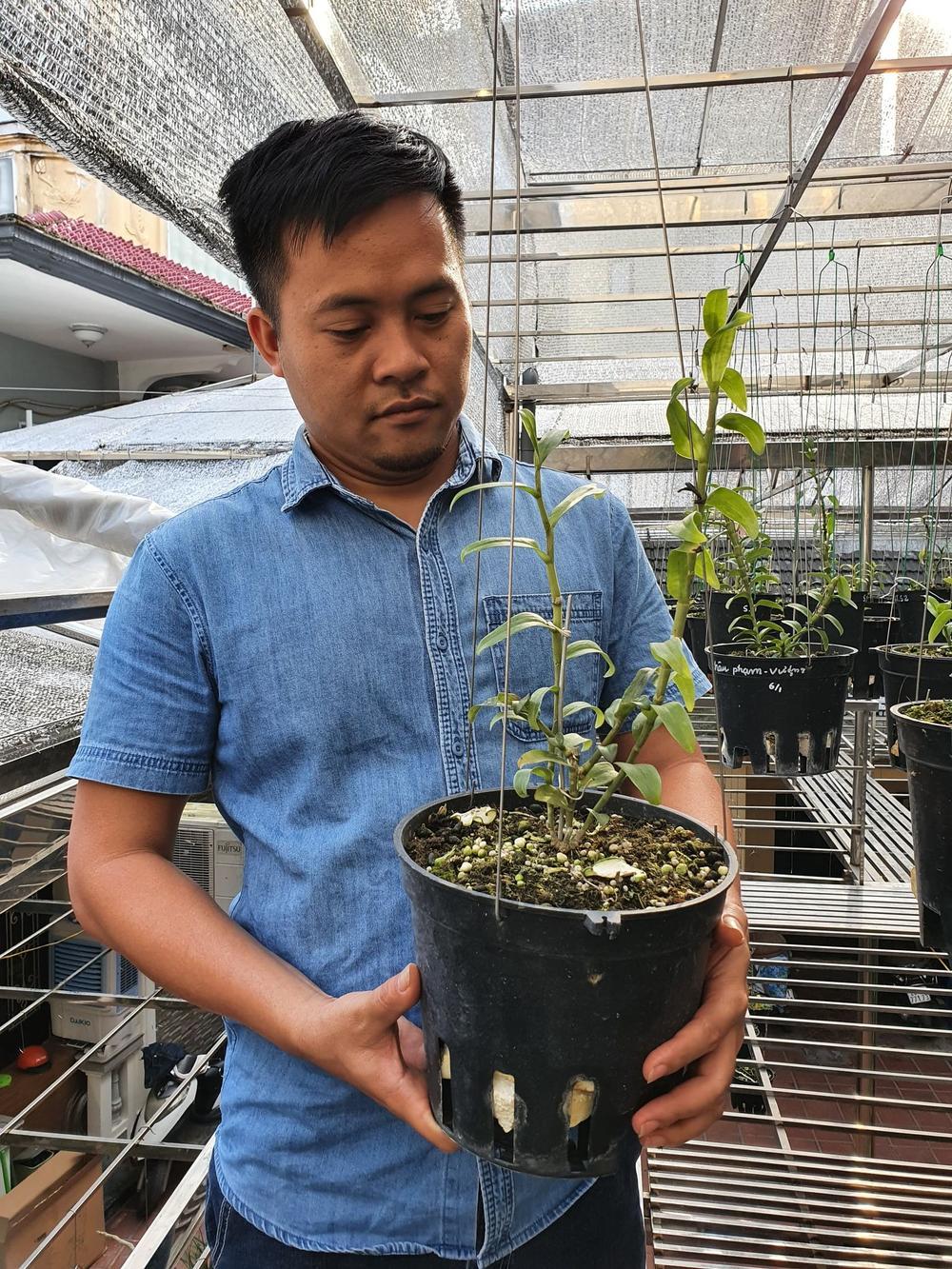Ông chủ vườn lan Dương Xuân Tú thành công nhờ đam mê từ nhỏ Ảnh 3