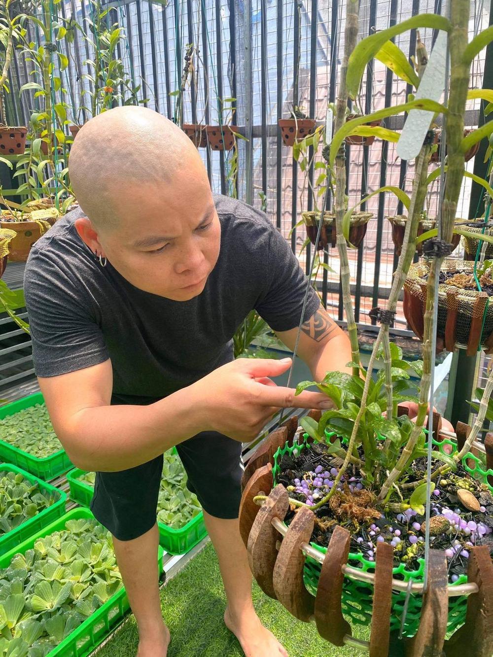 Nghệ nhân Nguyễn Văn Phương: Từ chàng DJ tới ông chủ vườn lan giá trị Ảnh 5