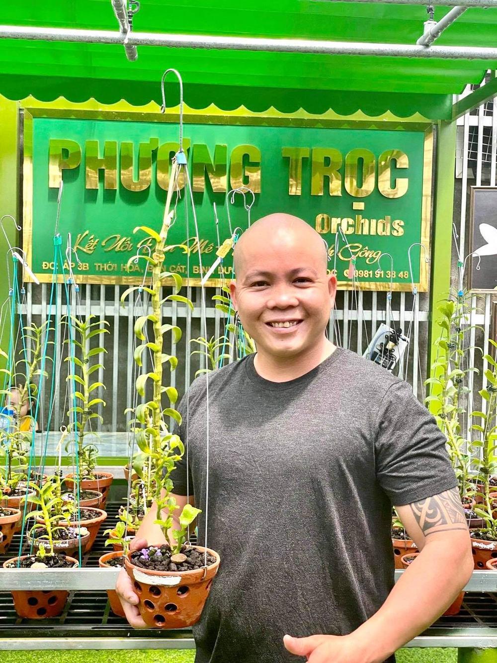 Nghệ nhân Nguyễn Văn Phương: Từ chàng DJ tới ông chủ vườn lan giá trị Ảnh 7
