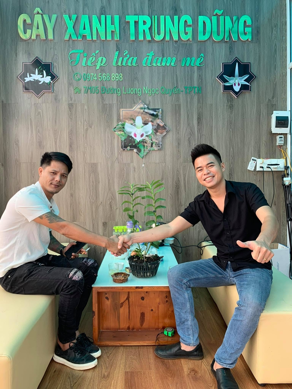 Ông chủ vườn lan 8X Trung Dũng: Chàng trai trồng lan đột biến khó chăm hiếm tìm ở Hà Nam Ảnh 8