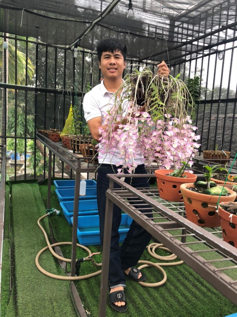 Nghệ nhân trồng lan Tạ Văn Hiệp: Cây lan lớn lên chỉ bằng tình yêu thực sự Ảnh 1
