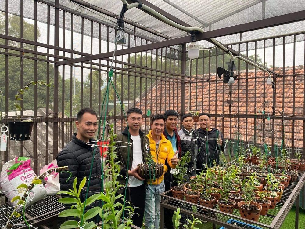 Nghệ nhân trồng lan Tạ Văn Hiệp: Cây lan lớn lên chỉ bằng tình yêu thực sự Ảnh 5