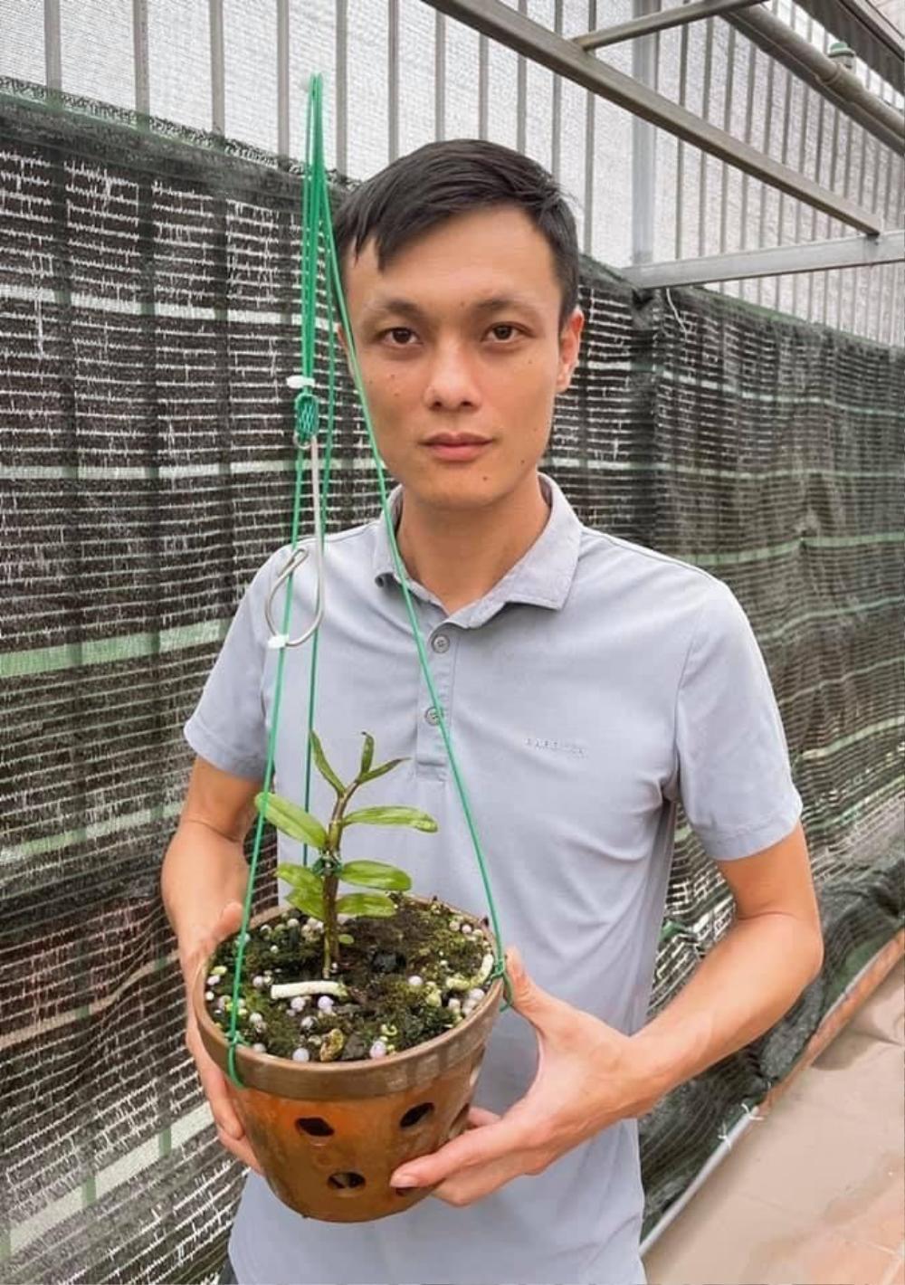 Nghệ nhân Nguyễn Thế Vinh: Chàng công an trẻ với niềm đam mê hoa lan Ảnh 2